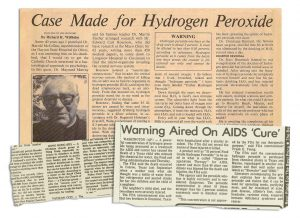 How Peddlers of 'Food-Grade' Hydrogen Peroxide Exploit the