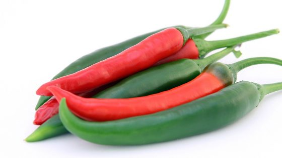 chillis are good for health